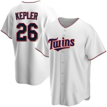 Youth Max Kepler Minnesota Twins Replica White Home Jersey